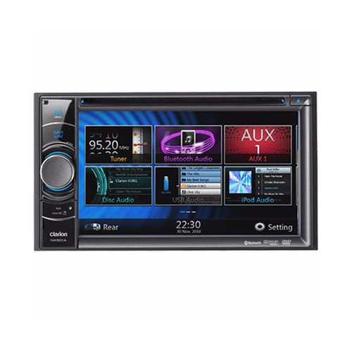 CLARION NX 501 A (GPS NAVIGASI) - HEADUNIT DOUBLE DIN
