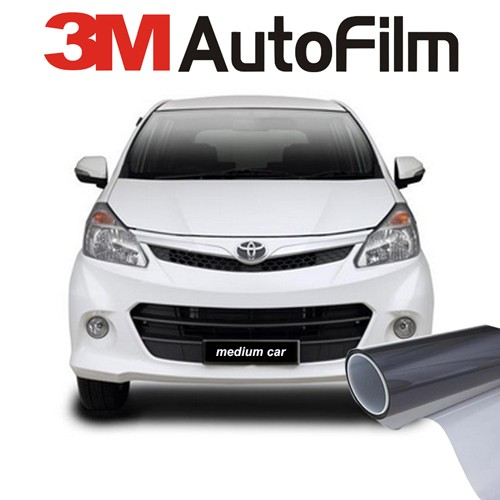 KACA FILM 3M BLACK BEAUTY - (MEDIUM CAR) KACA DEPAN