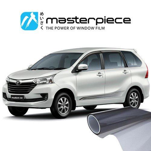KACA FILM MASTERPIECE BLACK SHINJU - (MEDIUM CAR) FULL KACA