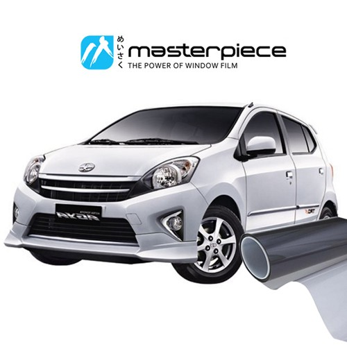 KACA FILM MASTERPIECE BLACK SHINJU - (SMALL CAR) FULL KACA