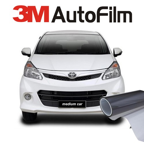 KACA FILM 3M CRYSTALLINE - (MEDIUM CAR) KACA DEPAN