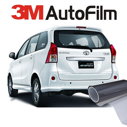 KACA FILM 3M BLACK BEAUTY - (MEDIUM CAR) KACA SAMPING BELAKANG