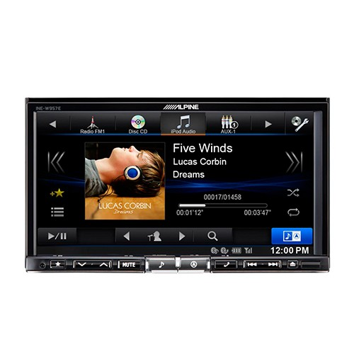 ALPINE INE-W957E - HEADUNIT DOUBLE DIN