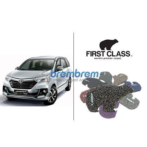 KARPET FIRST CLASS + BAGASI TOYOTA AVANZA