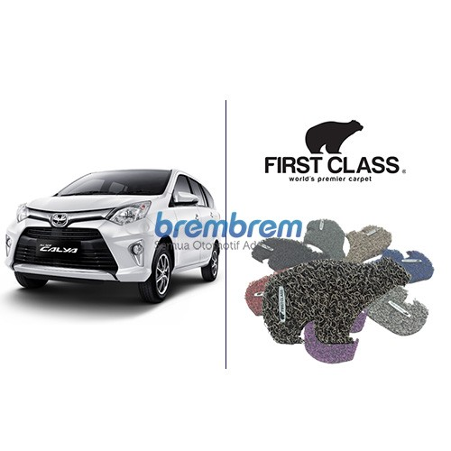 KARPET FIRST CLASS + BAGASI TOYOTA CAYLA