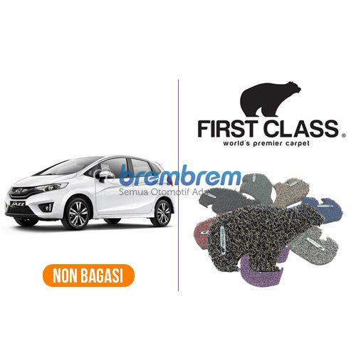KARPET FIRST CLASS NON BAGASI HONDA ALL NEW JAZZ >2013