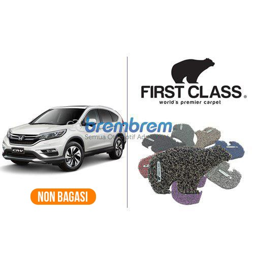 KARPET FIRST CLASS NON BAGASI HONDA CRV