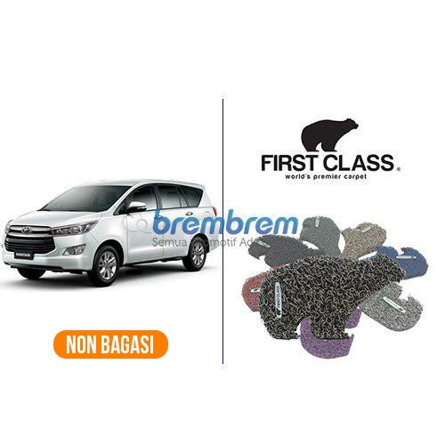 KARPET FIRST CLASS NON BAGASI TOYOTA GRAND INNOVA 2016