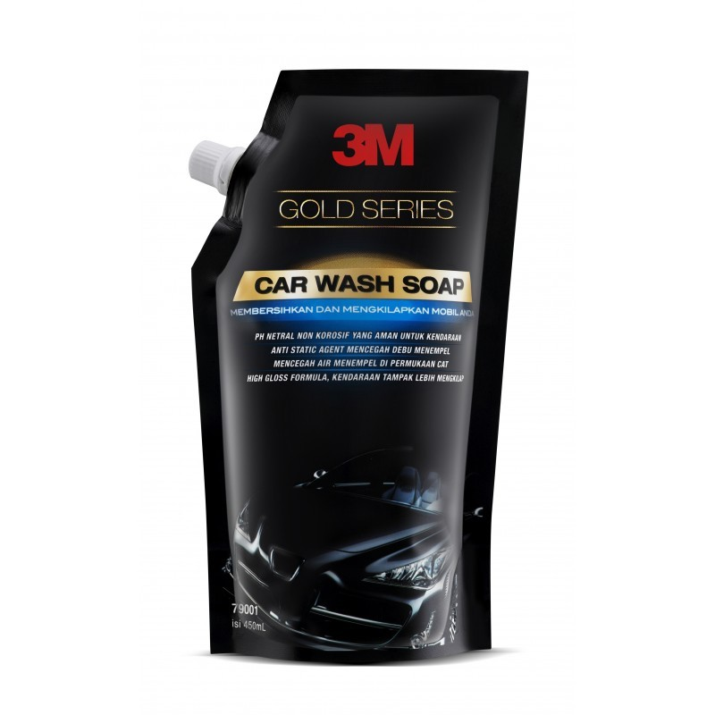 3M Car Wash Soap Pouch Gold Series (Shampo Cuci Mobil 3M Refill)
