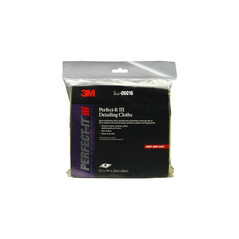 3M Perfect-It III Auto Detailing Cloth - Lap Mobil 3M (6 clothes)