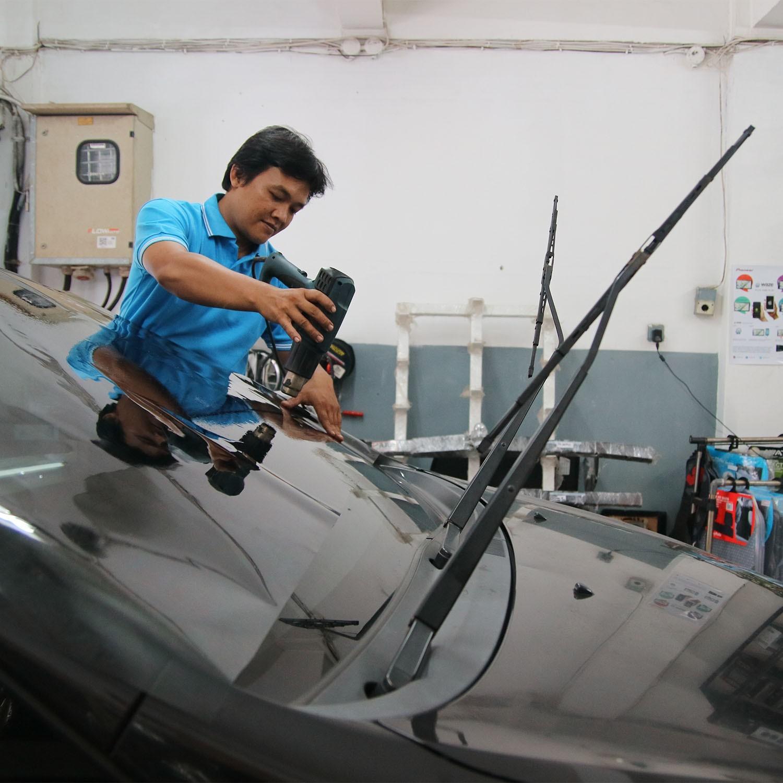KACA FILM HIGH DEFINITION CLEAR SERIES - (LARGE CAR) KACA DEPAN