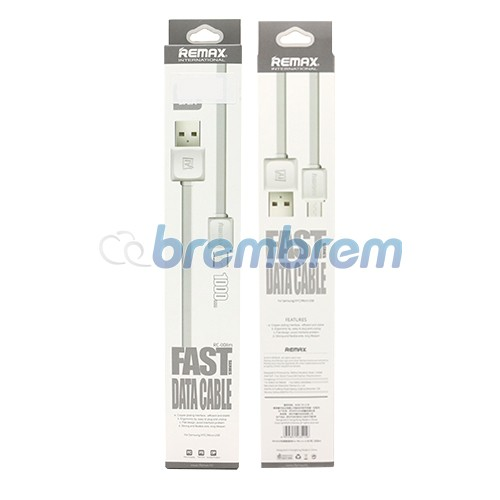 REMAX RC 008 - KABEL MICRO USB PUTIH