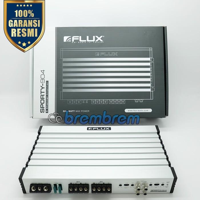 FLUX SPORTY 904 - POWER 4 CHANNEL