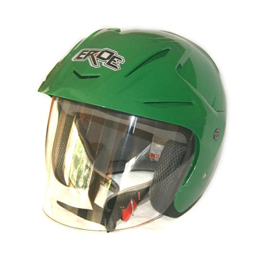 EROE (Viper Green) - Solid - Half Face Helmet