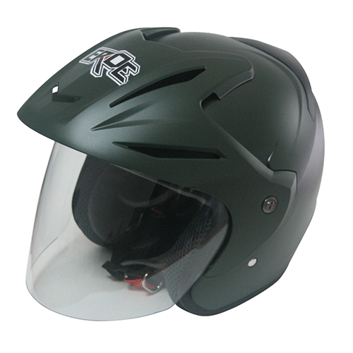 EROE (Frozen Green) - Solid - Half Face Helmet