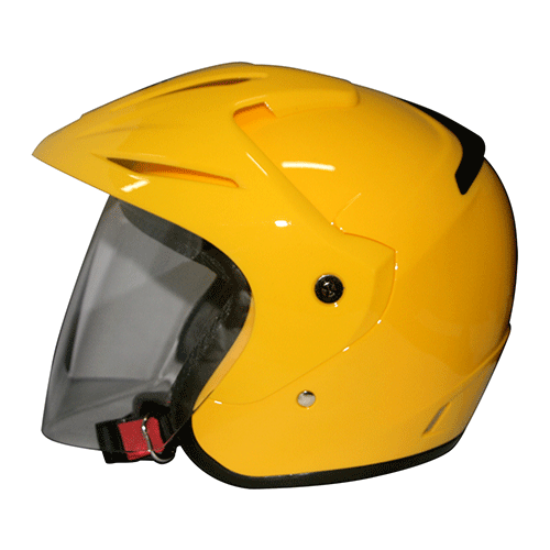 EROE (Speed Yellow) - Solid - Half Face Helmet