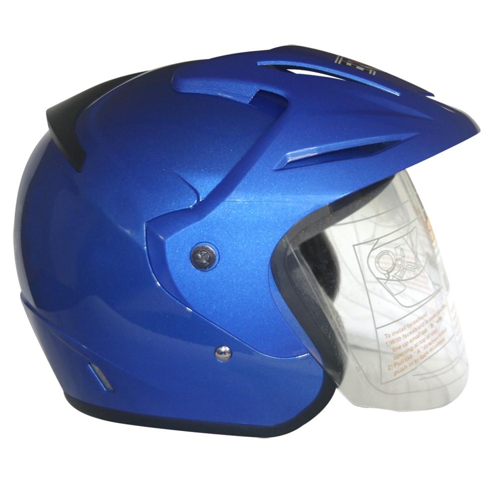 EROE (Blue Realm) - Solid - Half Face Helmet