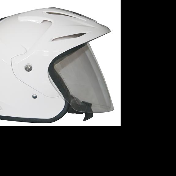 EROE (White) - Solid - Half Face Helmet