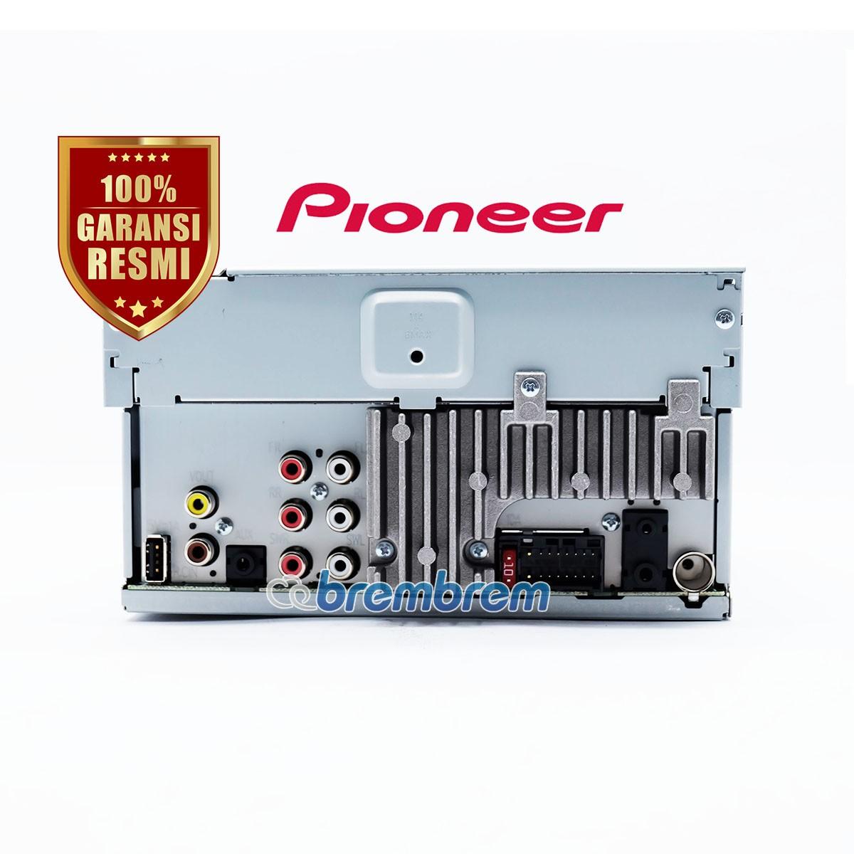 PIONEER AVH A205BT - HEADUNIT DOUBLE DIN