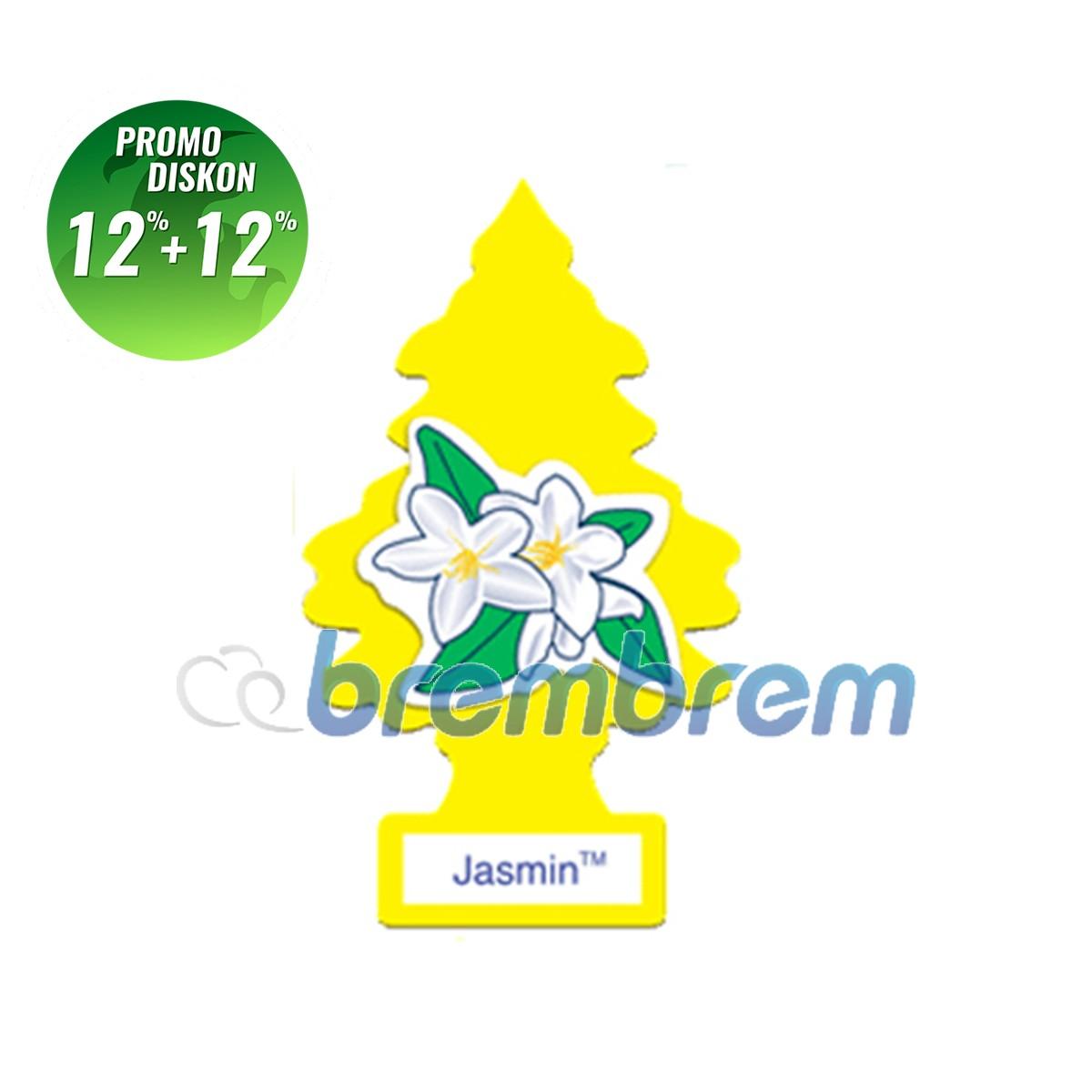 PROMO POTONGAN 12%+12% | LITTLE TREES JASMINE - PENGHARUM MOBIL