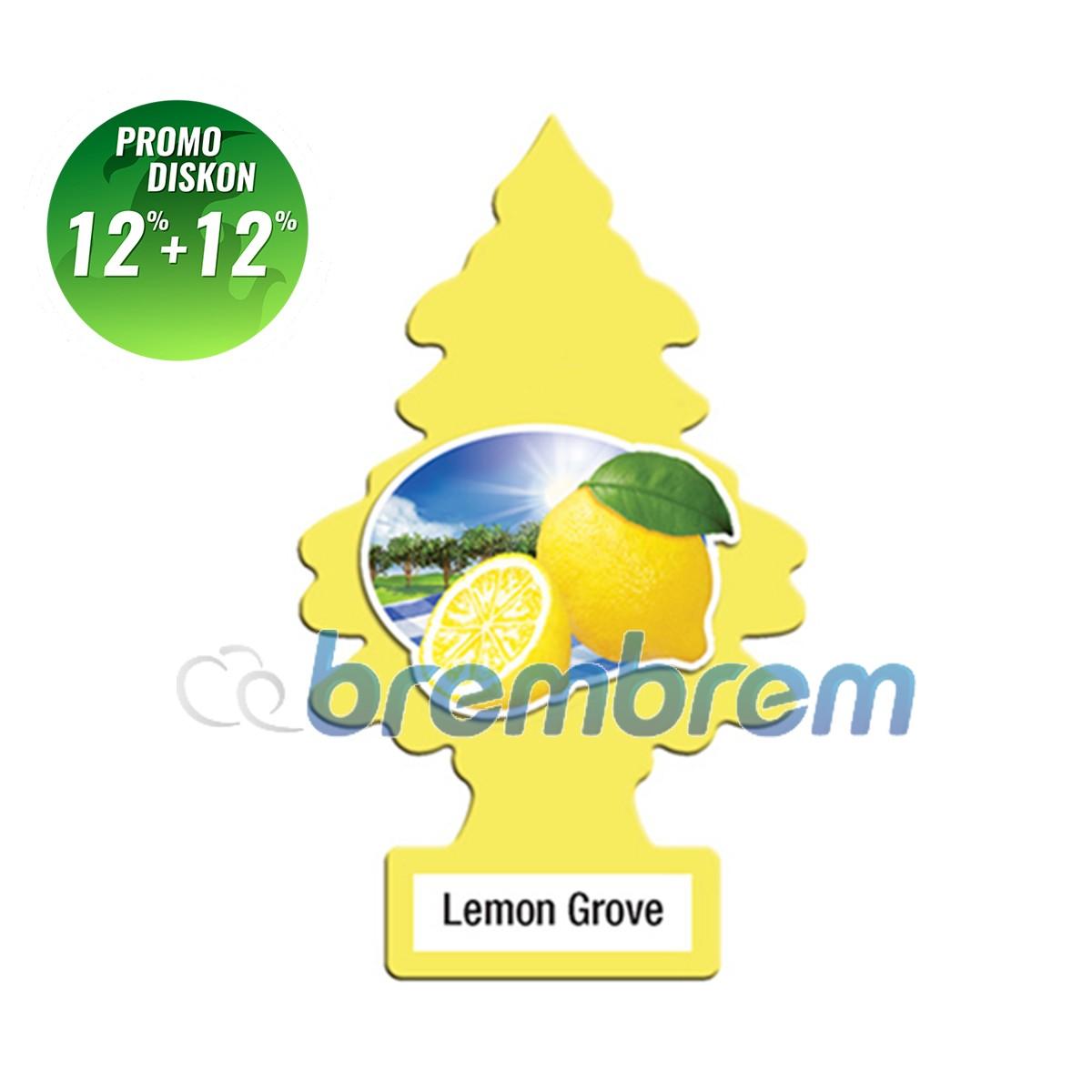 PROMO POTONGAN 12%+12% | LITTLE TREES LEMON GROVE - PENGHARUM MOBIL