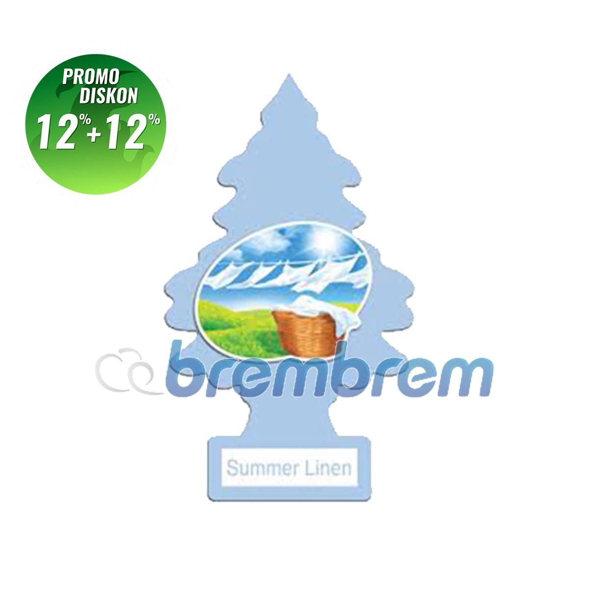 PROMO POTONGAN 12%+12% | LITTLE TREES SUMMER LINEN - PENGHARUM MOBIL