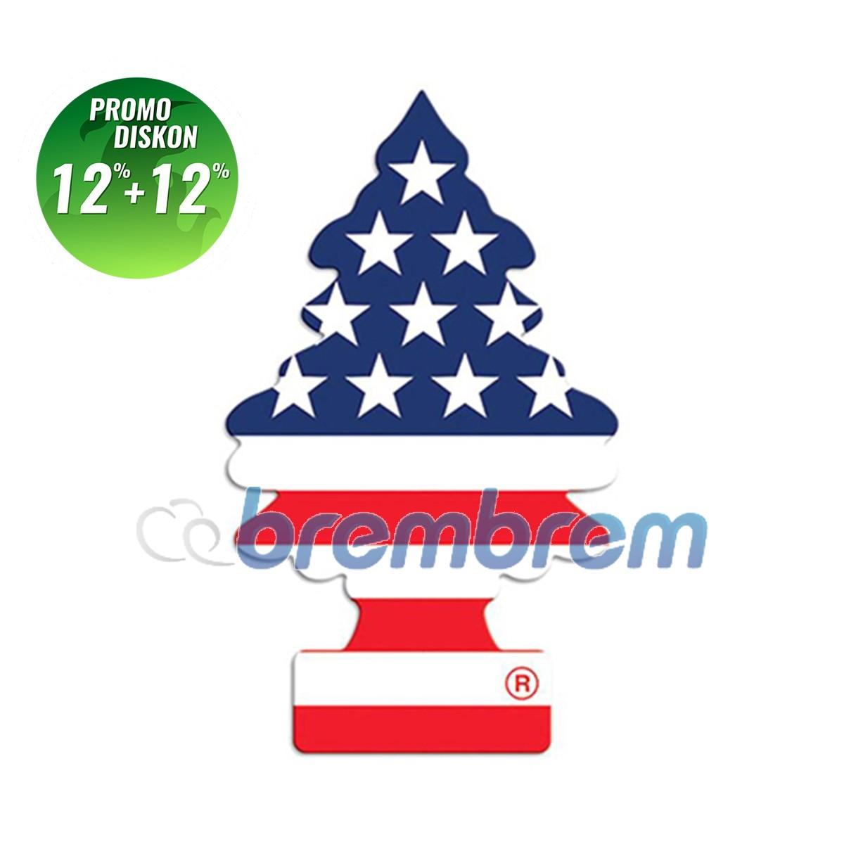PROMO POTONGAN 12%+12% | LITTLE TREES VANILA PRIDE - PENGHARUM MOBIL