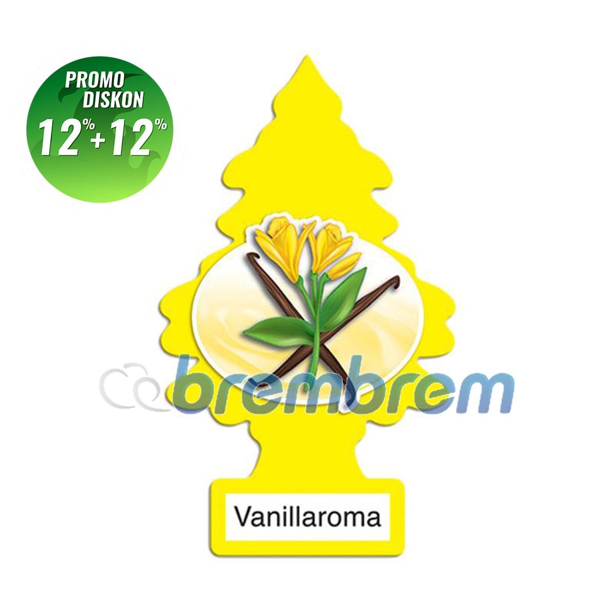 PROMO POTONGAN 12%+12% | LITTLE TREES VANILLAROMA - PENGHARUM MOBIL