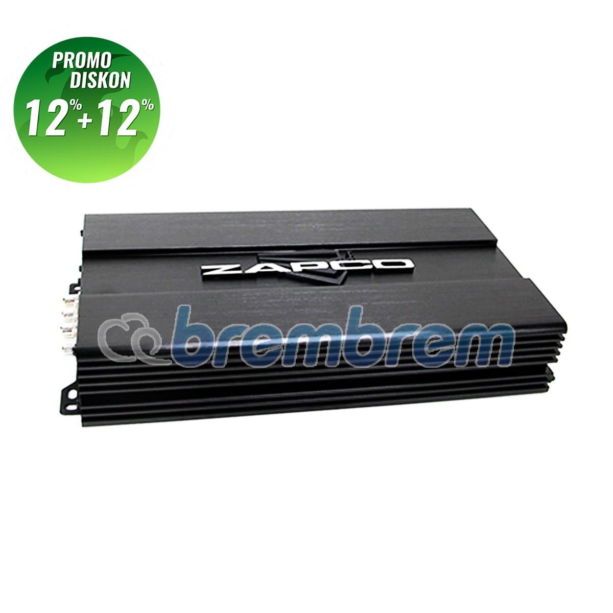PROMO POTONGAN 12%+12% | ZAPCO ST-4X SQ - POWER 4 CHANNEL