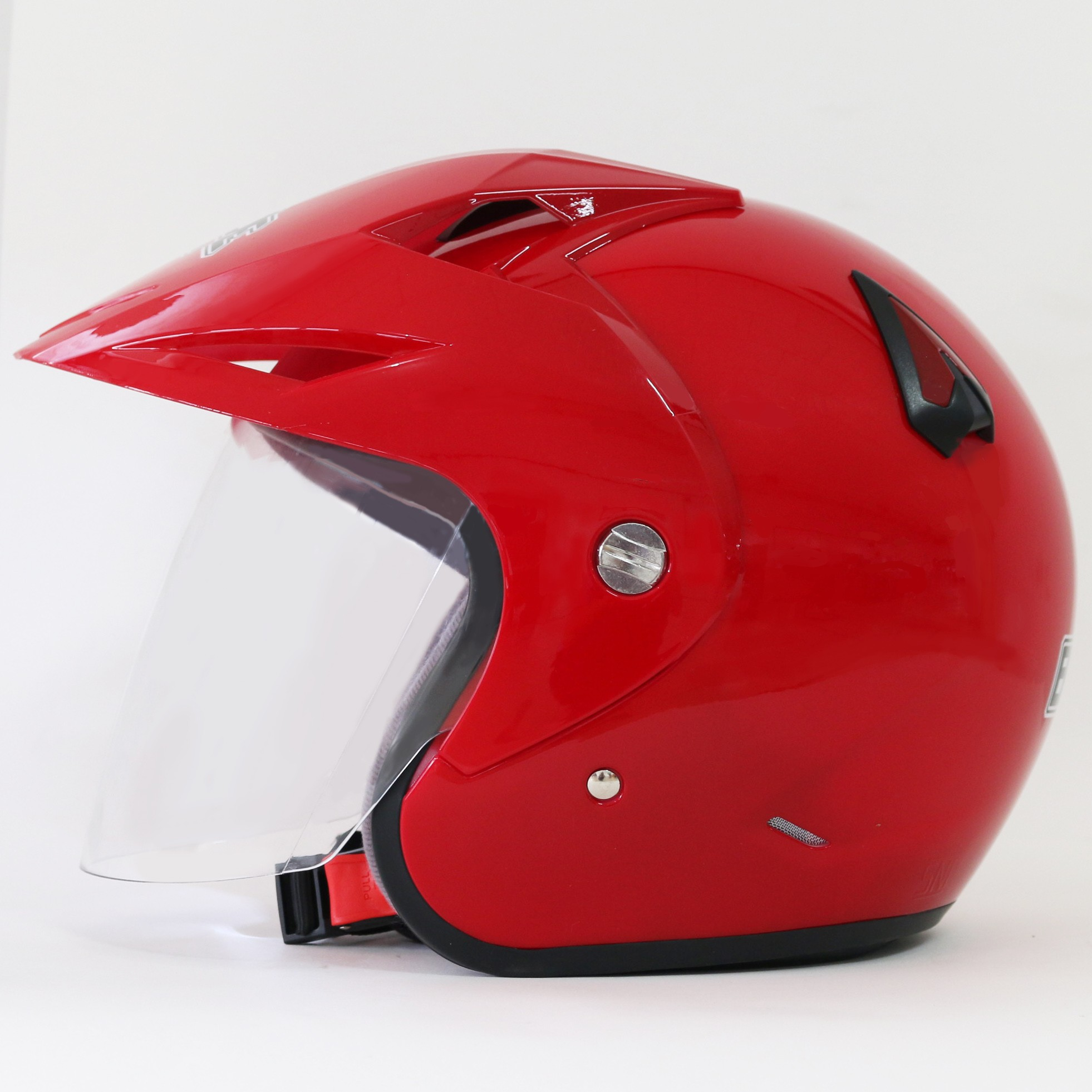 EROE R (Royal Red) - Solid - Half Face Helmet