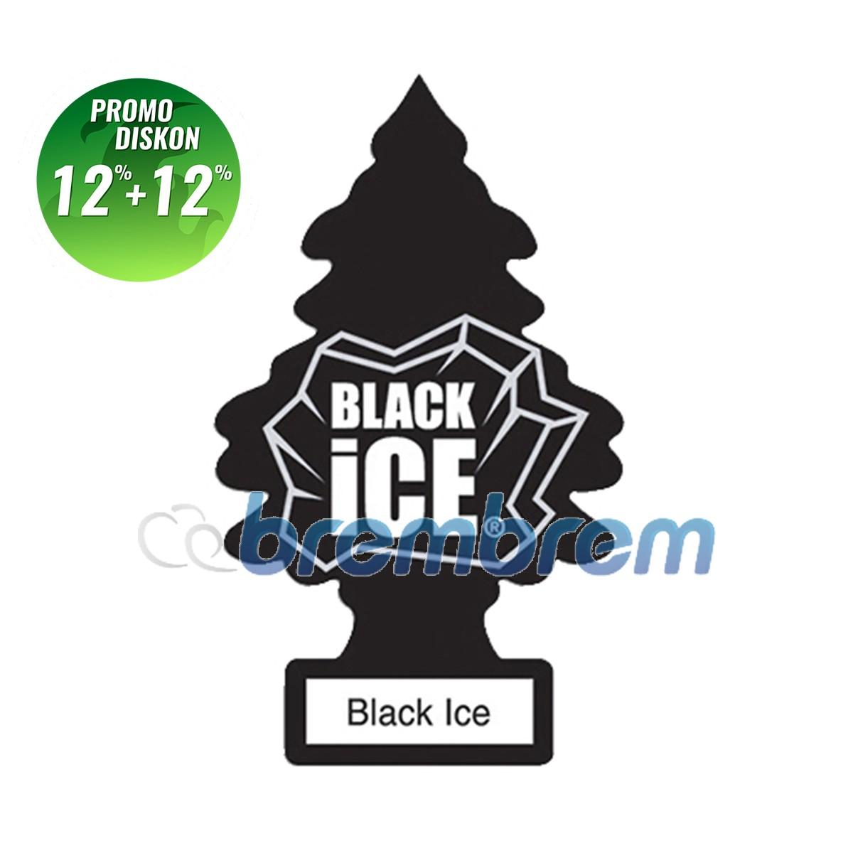 PROMO POTONGAN 12%+12% | LITTLE TREES BLACK ICE - PENGHARUM MOBIL