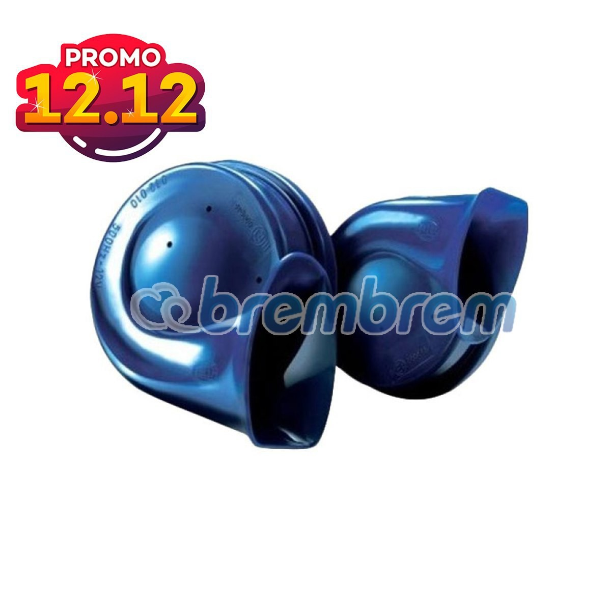 PROMO SERBA 12.12 | HELLA BLUE TWIN TONE - KLAKSON MOBIL