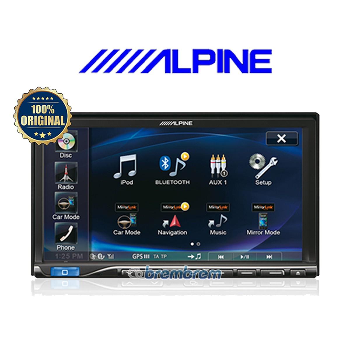 ALPINE ICS X8 - HEADUNIT DOUBLE DIN