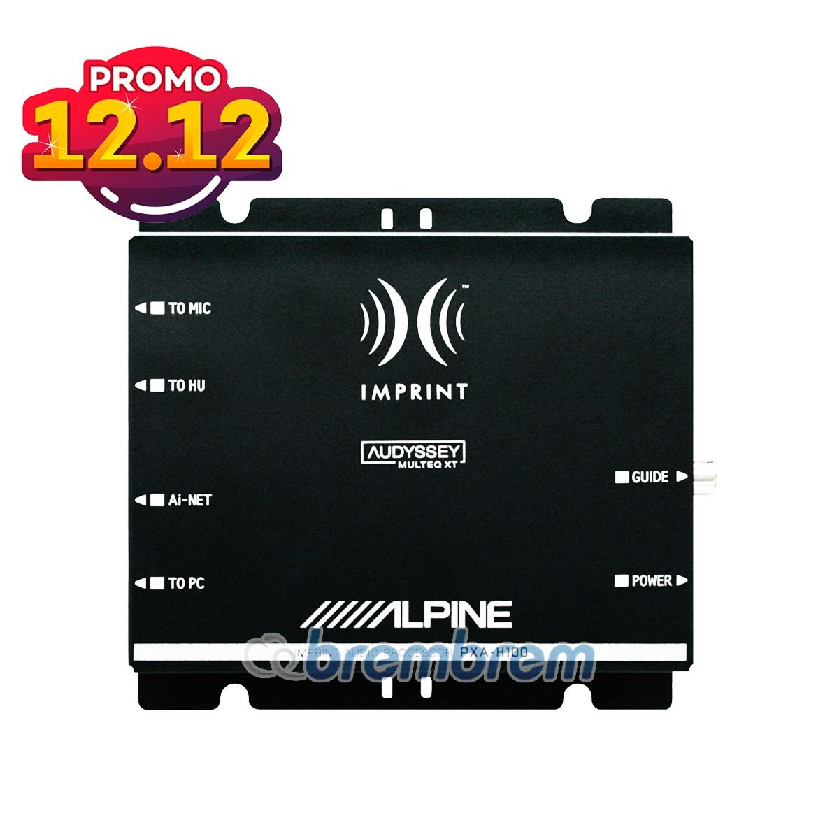 PROMO SERBA 12.12 | ALPINE PXA-H100 - PROSESOR AUDIO