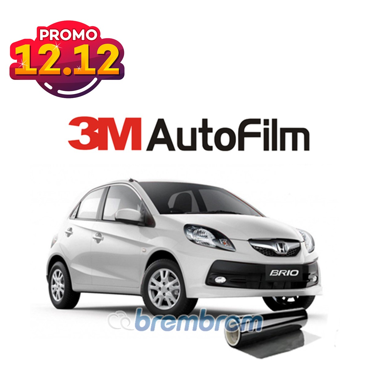 PROMO SERBA 12.12 | KACA FILM 3M BLACK BEAUTY - (SMALL CAR) FULL KACA