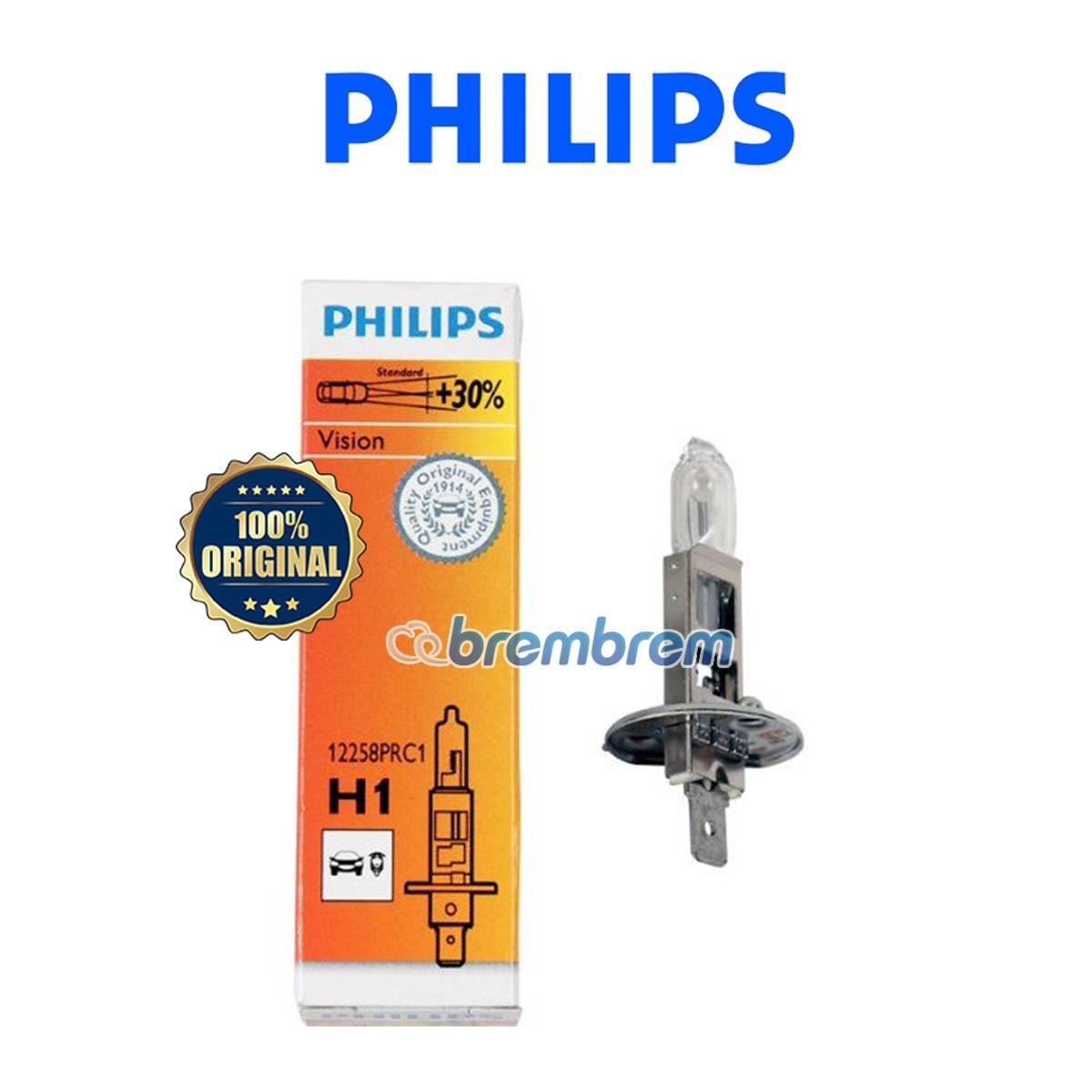 PHILIPS PREMIUM VISION H1 - LAMPU HALOGEN
