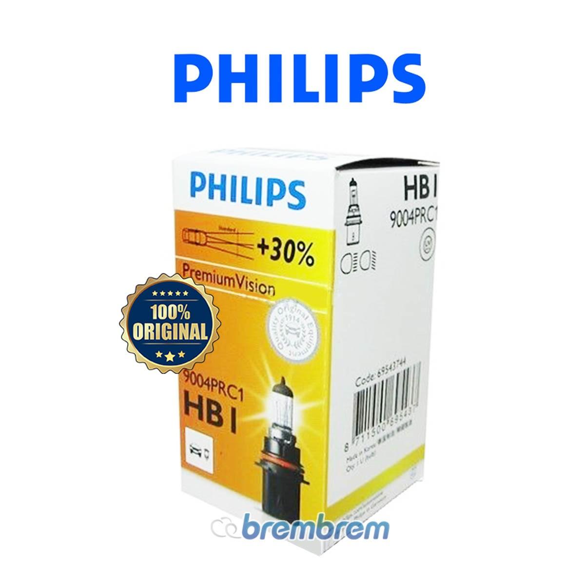 PHILIPS PREMIUM VISION HB1 - LAMPU HALOGEN