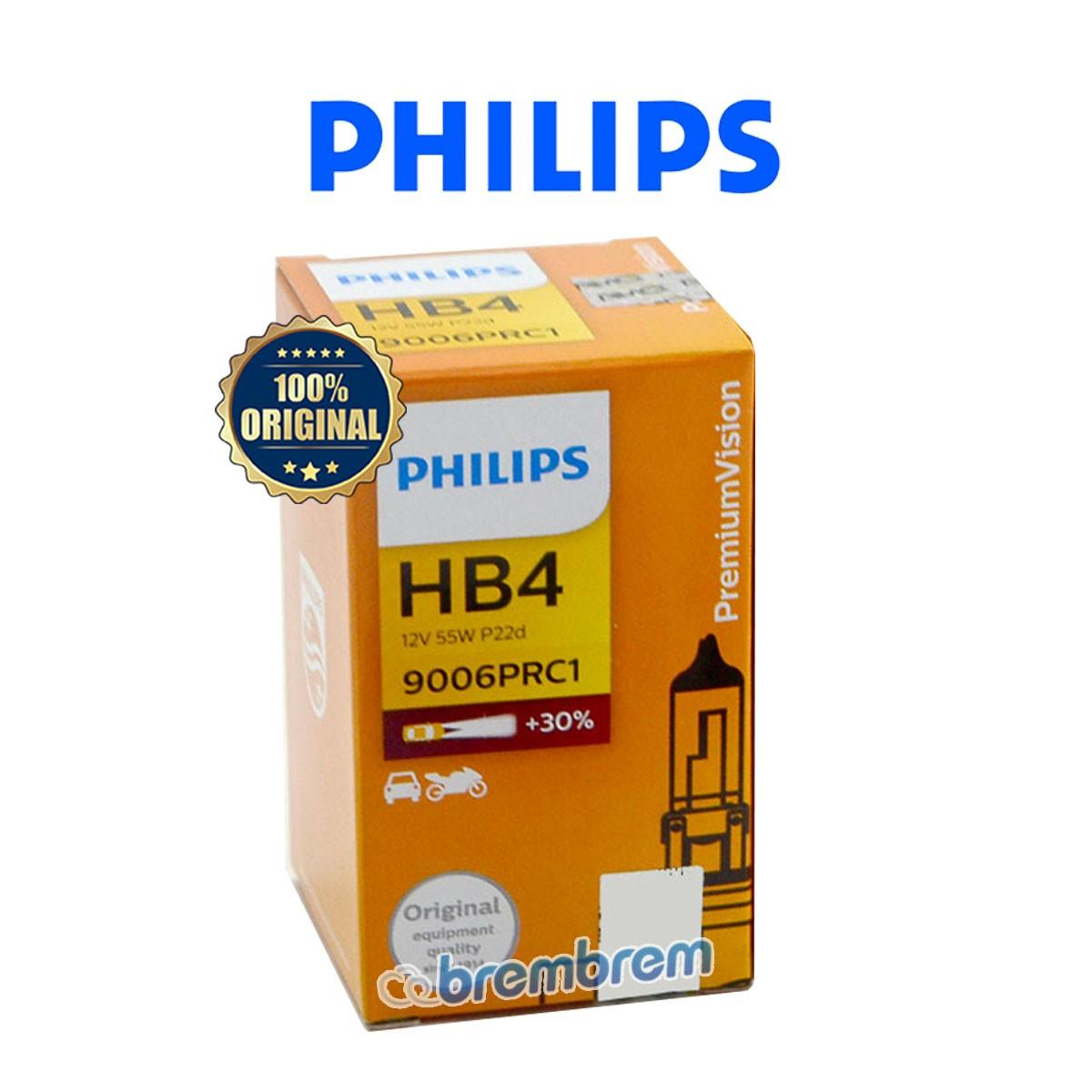 PHILIPS PREMIUM VISION HB4 - LAMPU HALOGEN