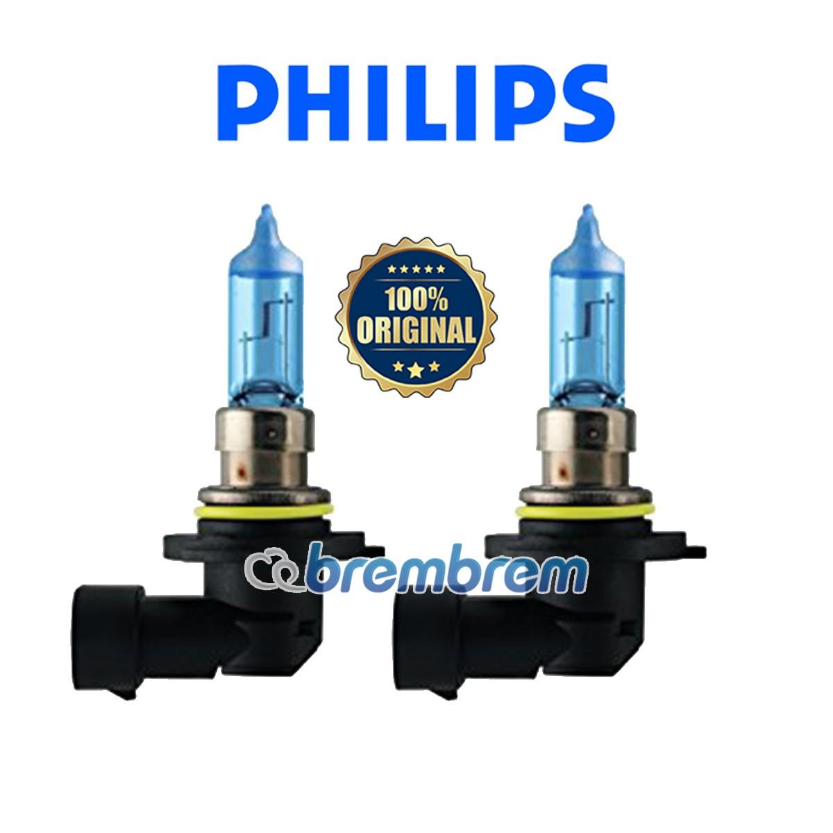 PHILIPS BLUE VISION ULTRA HB4 (4000K) - LAMPU HALOGEN