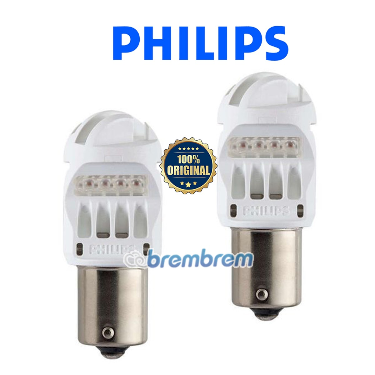 PHILIPS VISION P21W - LAMPU LED MOBIL