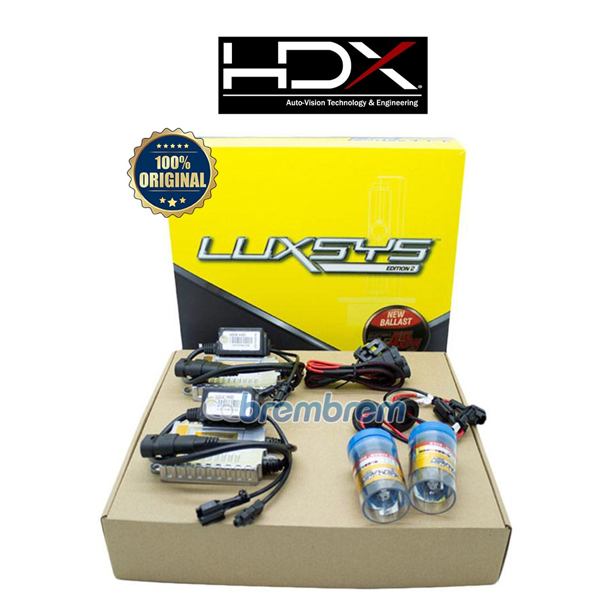 HDX LUXSYS H11 HI LOW 6000K - LAMPU HID MOBIL