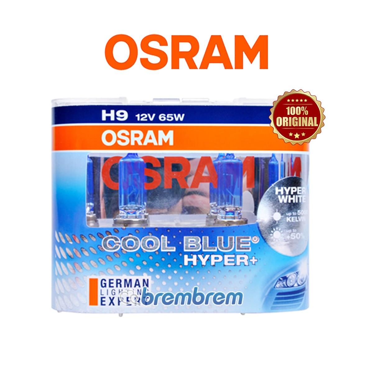 OSRAM COOL BLUE HYPER PLUS H9 (5000K) - LAMPU HALOGEN