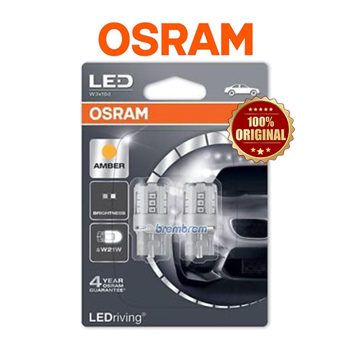 OSRAM RETROFIT 7705 YELLOW (W21W) - LAMPU SEIN TANCEP LED MOBIL