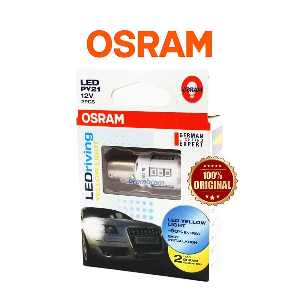 OSRAM RETROFIT T10 2880 YELLOW - LAMPU LED SENJA