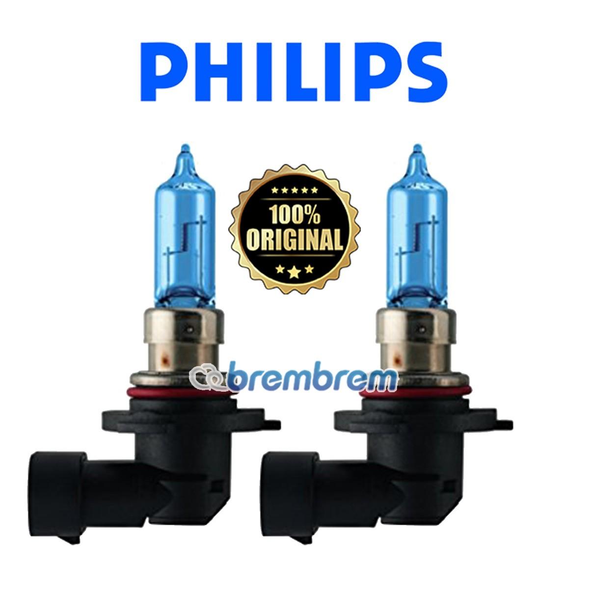 PHILIPS BLUE VISION HB3 (4000K) - LAMPU HALOGEN