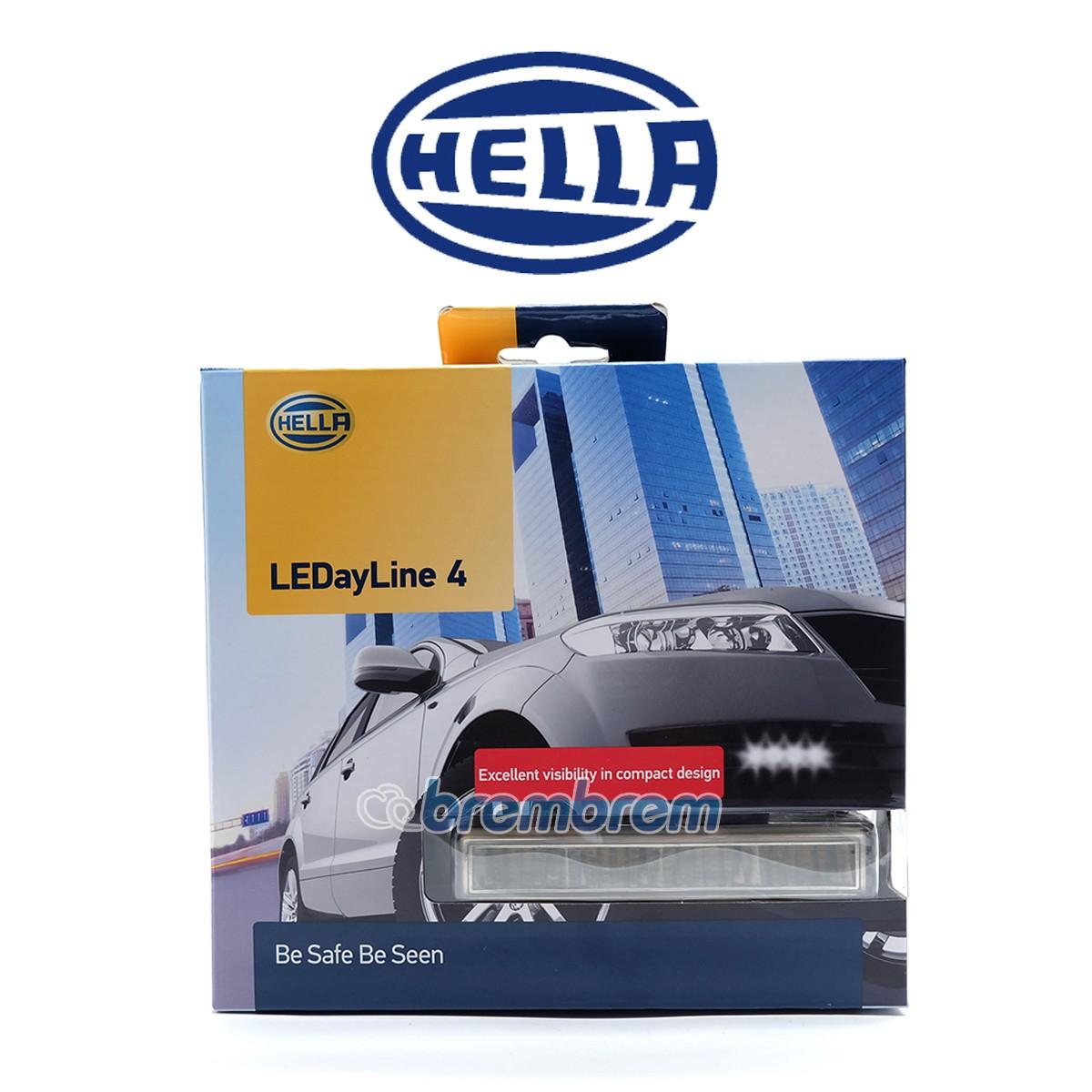 HELLA LEDayLine 4 - LAMPU DRL