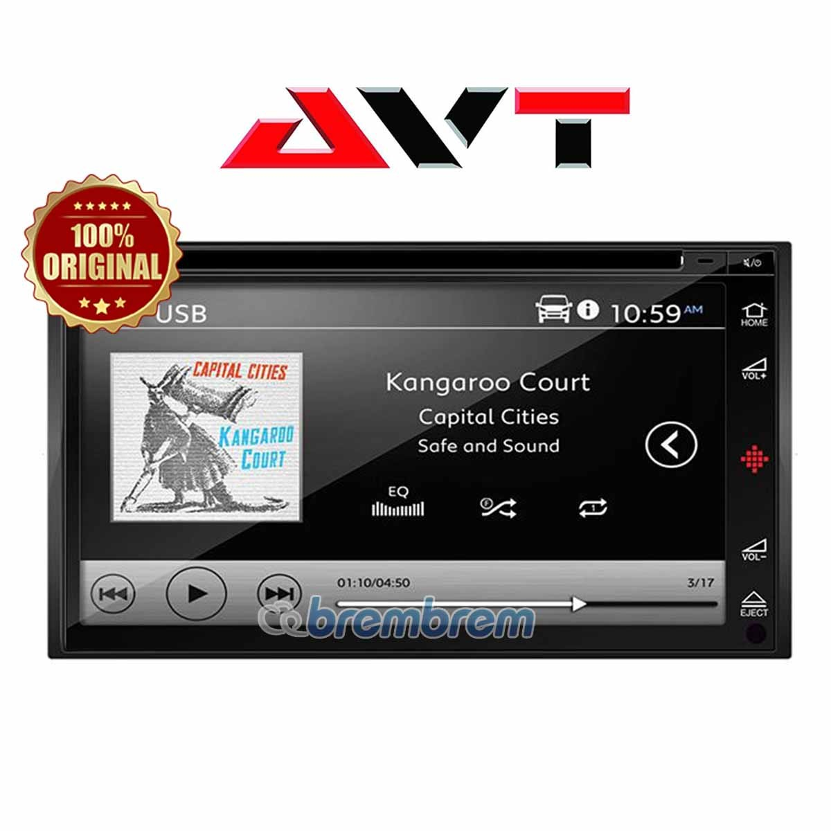 AVT SD 6809PAD - HEADUNIT DOUBLE DIN