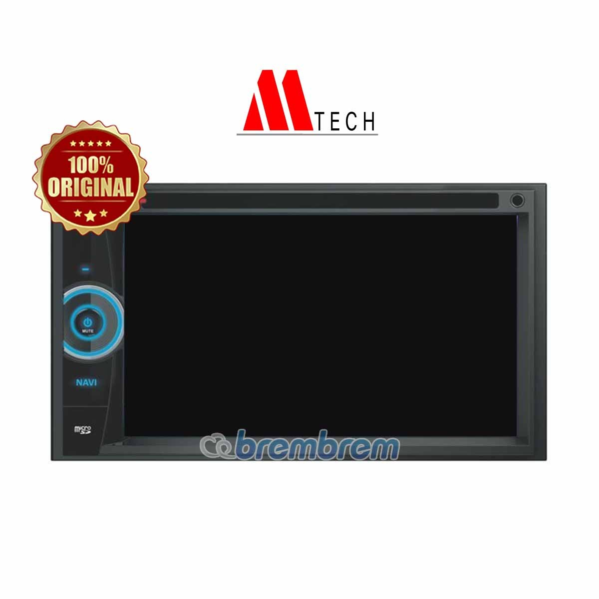 MTECH MM 6865 - HEAD UNIT  DOUBLE DIN (PREORDER)