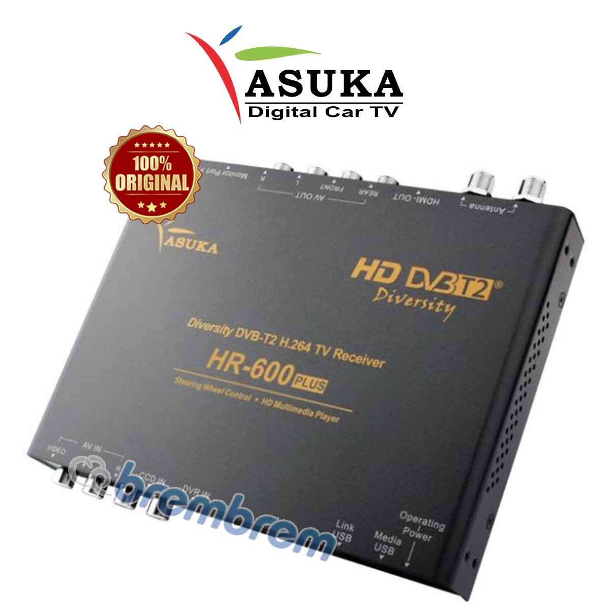 ASUKA HR 600 - DIGITAL TV TUNER