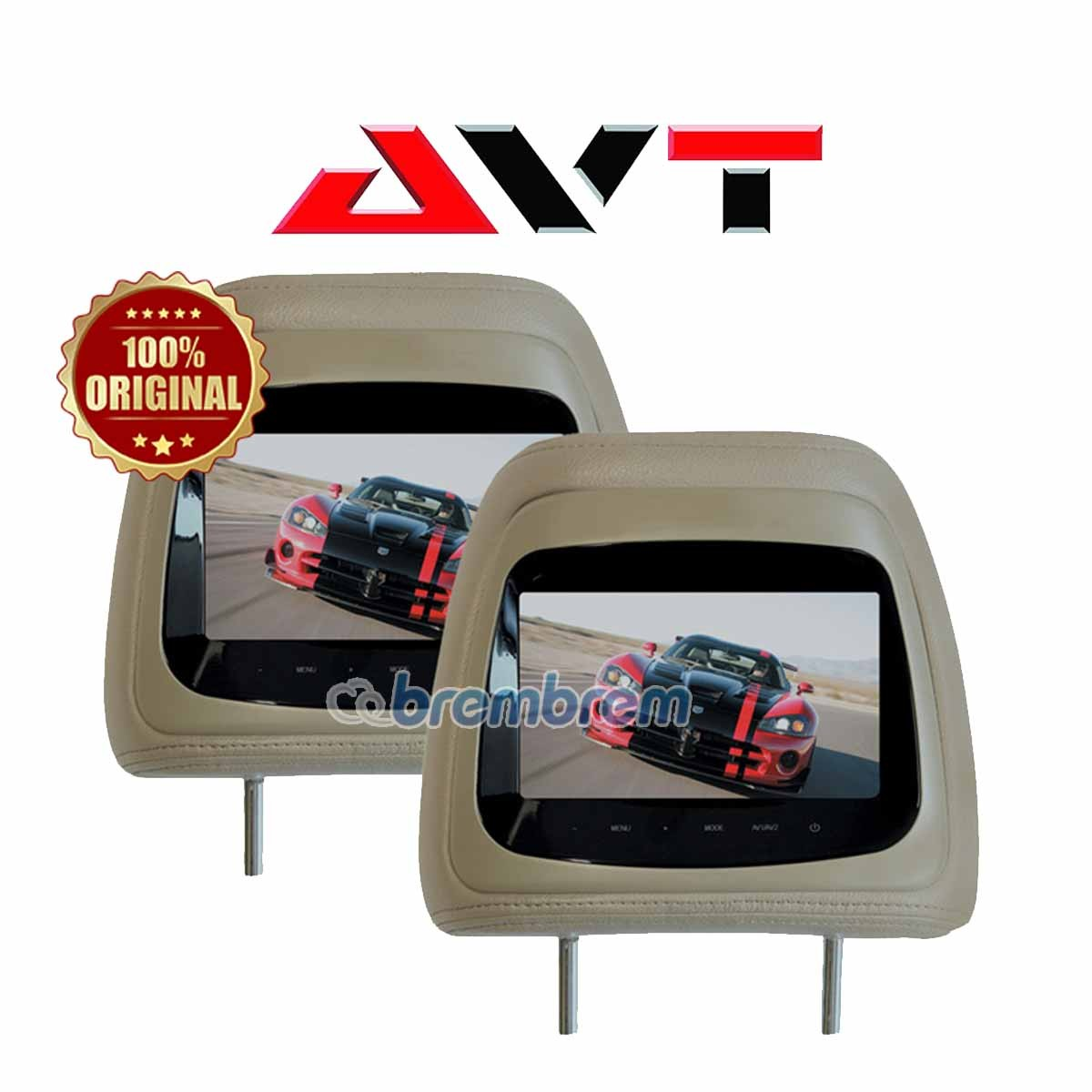 AVT HM 7088 - HEADREST MONITOR